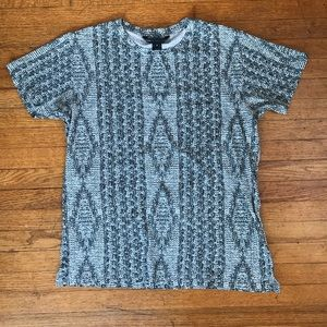 MARC BY MARC JACOBS Cableknit print t-shirt
